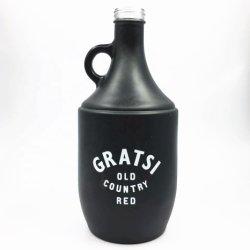 1,5 л 1500 мл четкий черный матовый пиво пазом ножовочное полотно красного вина воды домашнего приготовления стеклянной бутылки для сока с ручкой