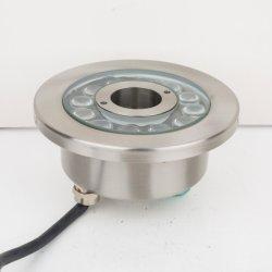 Control DMX de protección IP68 Resistente al agua fuente de luz LED Iluminación subacuática