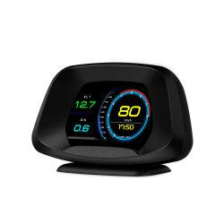2021 새로운 P19 모델 HUD GPS 내비게이션 헤드업 디스플레이 모든 차량 HUD에 대한 속도계 HUD OBD2 자동 진단 도구