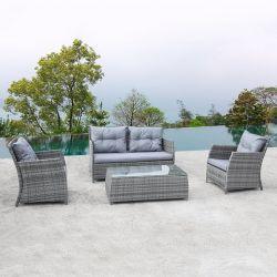 현대적인 디자인, 맞춤 정원 가구, 파티오 라탄 소파 세트