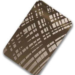 201 304 316 430 gravé de couleur or rose Platingstainless acier porte l'élévateur de paille en acier inoxydable