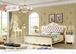 La Princesa de lujo de estilo coreano casa chica Muebles de Dormitorio