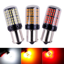 우회 신호 빛을%s 1X 3014 144SMD Canbus S25 1156 Ba15s P21W LED Bay15D Bau15s Py21W 램프 T20 LED 7440 W21W W21/5W LED 전구