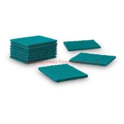 6pk Groen reinigingsdoekje voor zwaar gebruik/huishoudelijke schoonmaakproducten
