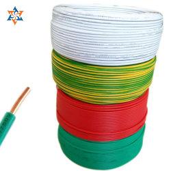 Collegare elettrico del PVC di singola memoria 4mm della fabbrica di Ningbo