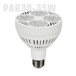 PAR30 35W 110V E26 E27 4000K 6000K 10000K 12000K RoHS ETL PAR30 PAR30 bijoux de lumière LED lumière PAR30 PAR 30 Ampoule de LED avec ventilateur