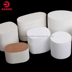 Cordiérite poreux Mullite Honeycomb support de catalyseur en céramique