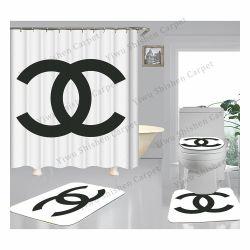 Banho de impressão personalizado tapetes tapetes tapete de banho Wc Antiderrapagem