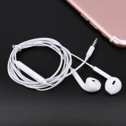 أول هواتف أذن 1.2 M التي تبيع بالكامل، سلكية 3.5 مم مع ميكروفون سماعة رأس ستريو داخل الأذن 1.1M لهاتف iPhone 4/5/6