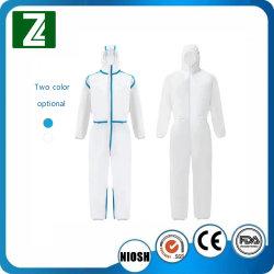 Не тканого хирургических Coverall одноразовые скрабс медицинского класса форму больницы скрабс защитную одежду