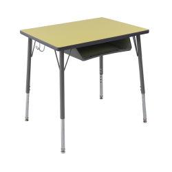 إرتفاع قابل للتعديل مربّعة شكل طالب مكتب مع [هبل] أعلى