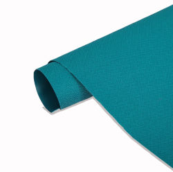 Impermeabile 300d 100% poliestere tessuto Oxford 300 tessuto in PVC denier Materiale tessile con rivestimento in PVC per sacco e valigeria