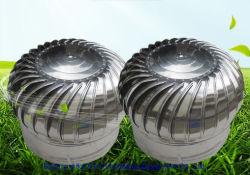 Aço inoxidável Acionada Vento Turbina Círculo sem teto de energia o Ventilador