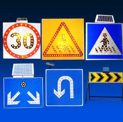 태양 LED 소통량 횡단보도 알루미늄 도로 교통 표지
