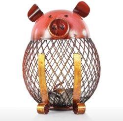 مخزن تصادم قطرة حديد فريد من نوعه بمصرف خنزير معدني خنزير حديد خنزير صندوق