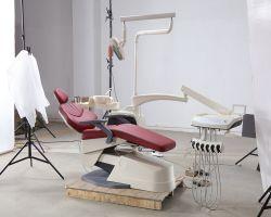 El Hospital Clínico oral popular unidad dental móvil eléctrico sillón dental