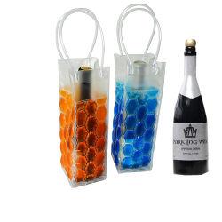 Dispositivo di raffreddamento commerciale della bottiglia da birra del vino del ghiaccio del gel di assicurazione