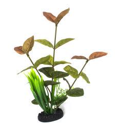 اكواريوم بالجملة الزهور البلاستيكية النباتات المائية الرخيصة الاصطناعية الأسماك دبابة الديكور