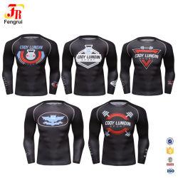 Imprimer les hommes de la Formation personnalisée des vêtements de sport avec logo d'usure actif
