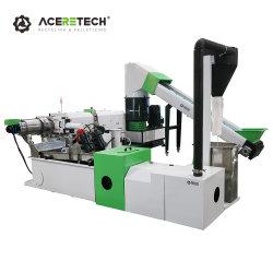Aceretech PP PE EPS reciclar el plástico de la línea de producción de pelets Precio Máquina de Fabricación de gránulos
