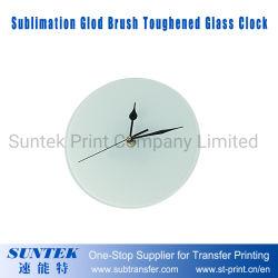 30*30 تصميد مستديرة [غلود] فرشاة يقسم ساعة زجاجيّة