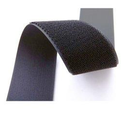 Comercio al por mayor colorido a 100 mm en el dorso de gancho y bucle empate por cable
