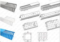 할로겐 케이블 덕트용 PVC 플라스틱 압출 및 사출