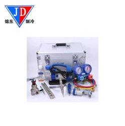 Wk-7p Caixa portátil combinação de conjunto de refrigeração e ar condicionado Kit de Ferramenta