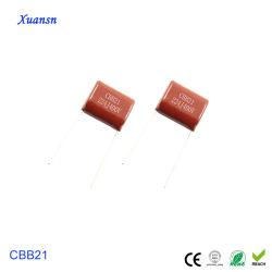 Resina epóxi de potência Capacitor 224J400V Cbb Capacitor de filme