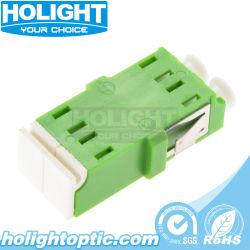 Adaptateur d'obturation LC à LC de l'APC APC Single Mode duplex pour câble à fibre optique