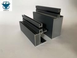 L'aluminium extrudé Profile-Fluorocarbon Painting-Curtain Wall-Glass mur humide
