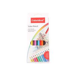 12pzas suministros escolares 7'' a los niños de madera lápices de colores para dibujar