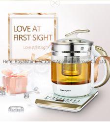 قدر صحي من الزجاج من Royalstar مع وظائف التبريد وتنظيم درجة الحرارة