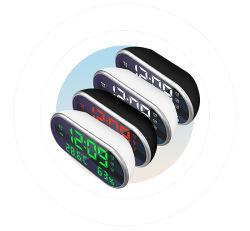 Estación meteorológica personalizada OEM escritorio Termómetro Digital LCD Reloj alarma
