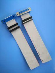 На заводе Custom плоский кабель IDC с dB25 Разъем