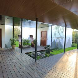 Impermeável à prova de fogo Eco-Forest Outdoor Strand Woven Bamboo projetou piso laminado