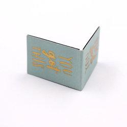 تصميم العلامات المرجعية الخاصة الترويجية الخاصة بنمط الألوان المخصص Paper Style