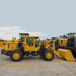 De Machines van de Bouw van de Lader van het Wiel van China 2t met Motor Yuchai (LG920)