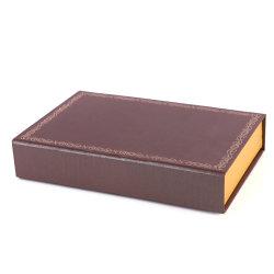 Imán Tapa plana de cartón plegado de papel Caja de regalo para Royal