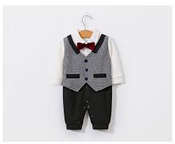 Lty1903-c de Baby kleedt Bodysuits van de Baby van de Jongen de Kruippakje Afgedrukte Kleding van Jumpsuits van Peuters