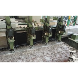 El husillo múltiple CNC las perforaciones de la hoja de tubo grande y la placa deflectora mecanizado
