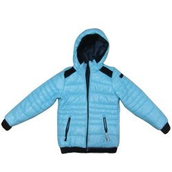 Los niños Down Jacket desgaste lateral de doble capa acolchada