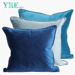 Home Produtos Têxteis elegante cor pura almofada decorativa macios e aveludados abrange