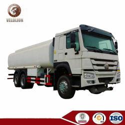 6X4 10 Rodas 25ton de Capacidade do Tanque 25mt 25000 litros Petroleiro do Tanque de Combustível Diesel de caminhões 25m3 do tanque de armazenagem veículo