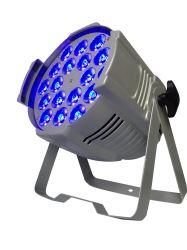 Для использования внутри помещений 18*1.5W RGBWA 5в1 Stage Wash DMX LED PAR лампа