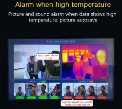 Termocamera a infrarossi Stazione termografica a infrarossi fotocamera digitale SK-ITS-1