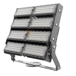 160lm/Wは高い発電屋外空港競技場の照明100W 200W 300W 400W 600W 800W 1000W 1500Wのための調節可能なLEDの高いマストの洪水ライトを防水する