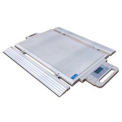 Ultra Slim 20tonne 20t bascules d'essieu en aluminium avec affichage du poids