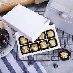 아름다운 골드 럭셔리 선물 패키지 상자 장식 초콜릿 상자