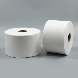 Polimento paralelo pequenos pontos em relevo Spunlace Nonwoven Fabric